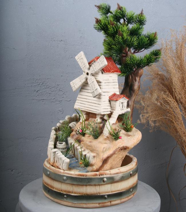 Настольный фонтан «У мельницы»