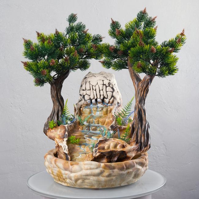 Настольный фонтан «Сосны»