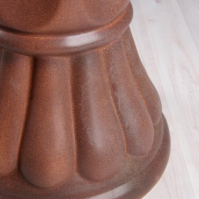 Напольный фонтан «Легенда классика коричневый бархат»