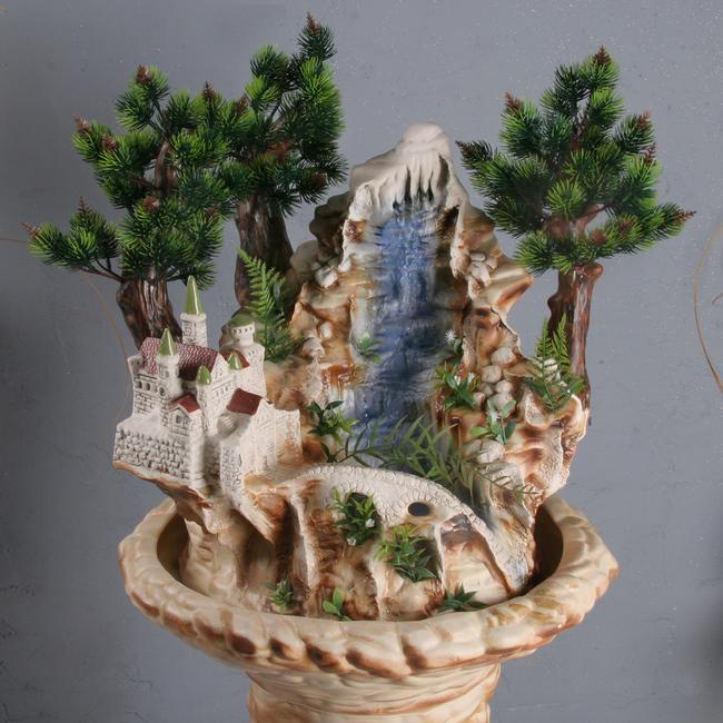 Напольный фонтан «Легенда витая»