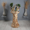 Напольный фонтан «Мираж витой»