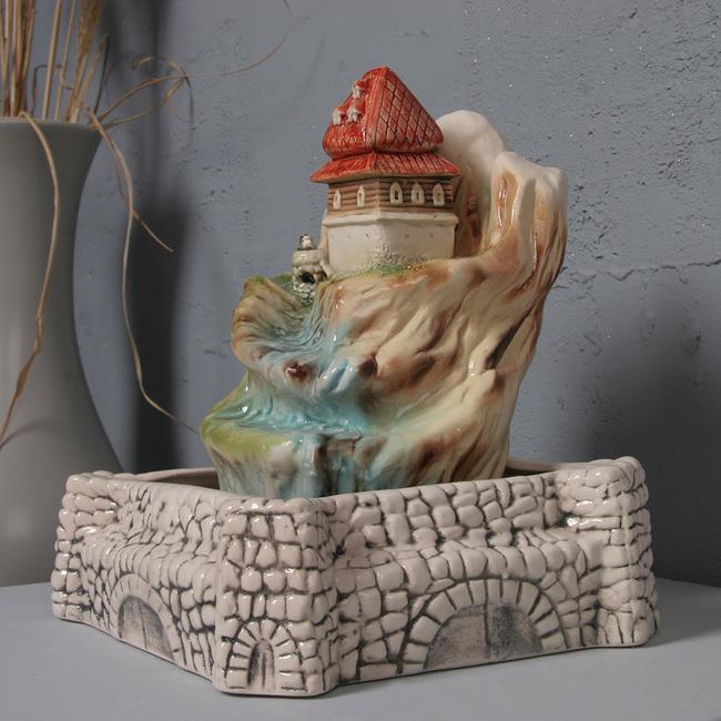 Настольный фонтан «Теремок»