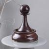 Настольный фонтан «Шахматы матовая бронза»